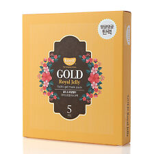 NEW KOELF Gold & Royal Jelly Hydro Gel Mask Pack (5 Sheets)
