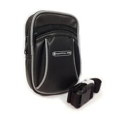 Zipped Black Universal Compact Digital Camera and DS Case Bag Belt Loop & Strap