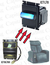 ICT L70 Validator - Drop in Upgrade Replacement for Bill Operated Massage Chair