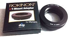 T-Mount SLR Camera Adapter For Four Thirds Mount Olympus Panasonic T-2 T-Mount