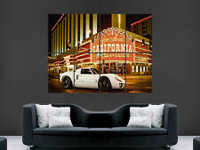 FORD GT40 SUPERCAR LAS VEGAS USA GIANT POSTER WALL ART PICTURE PRINT GRANDE ENORME