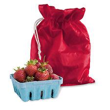 Infinity Marcas Berry Strawberry Fruit Nevera bolsa de almacenamiento mantener fresca durante más tiempo Nuevo
