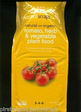 2 EA. 4 LB Bags Natural & Organic Tomato, Herb & Vegetable Plant Food 5-4-6