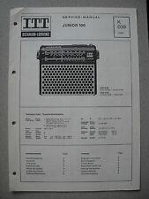 ITT/Schaub Lorenz Junior 108 Service Manual, K039