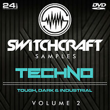 Techno vol 2-Studio de 24bit wav / échantillons de production musicale-DVD
