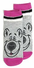 LADIES DISNEY THE JUNGLE BOOK BALOO SHOE LINERS SOCKS UK 4-8 EUR 37-42 US 6-10