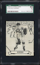 1936-37 V304 O-Pee-Chee Series D #122 Red Horner (HOF, Maple Leafs) SGC 84+++