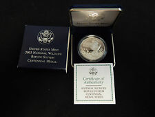 2003 National Wildlife Refuge System Silver Centennial Medal - Bald Eagle