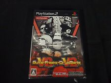 Guitar Freaks V2 & Drum Mania V2 (PlayStation 2) Brand New Factory Sealed Japan