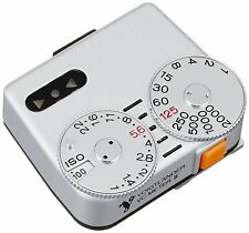 Voigtlander VC Meter II Silver Light Meter Shoe Mount Exposure Master for Camera