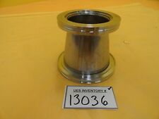 MKS Instruments Conical Reducer Stainless Steel ISO100 to ISO80 ISO-K Used