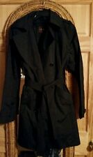 Cole Haan womens size large trench rain coat