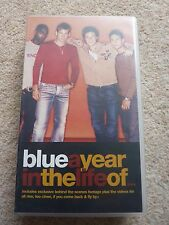 Blue A Year In The Life Of - VHS Video Tape - Music Pop Lee Duncan Ant Simon
