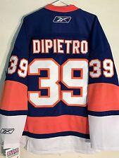 Reebok Premier NHL Jersey NEW YORK Islanders Rick Dipietro Blue sz M