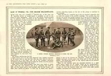 1915 Maxim Machine Gun Barbed Wire Defence