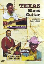 John Miller Texas Blues Guitar imparare Play T BONE WALKER FREDDIE KING MUSICA DVD