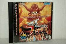 SAURUS SNK KING OF FIGHTER QUIZ USATO OTTIMO NEO GEO CD ED GIAPPONESE MB4 47228