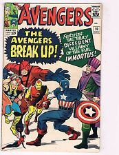 Avengers # 10 FN/VF Marvel Silver A Comic Book Iron Man Captain America Thor J30