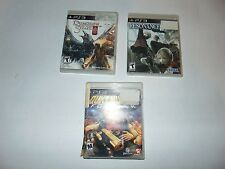 PS3 DUNGEON SIEGE 3 RESONANCE OF FATE DUKE NUKEM FOREVER PLAYSTATION 3 GAME LOT