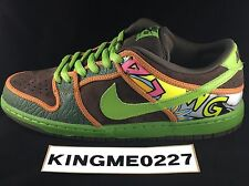 Nike Dunk SB De La Soul Low Mens Size 10 Green 100% Authentic w/ Receipt 9 8 9.5