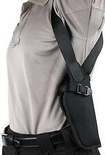 """Blackhawk 40VH03BK-L Black LH Vertical Shoulder 4 5/8""""- 5 1/4"""" Gun Holster (I)"""