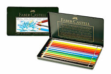 FABER-CASTELL - ALBRECHT DURER- WATERCOLOUR PENCILS - 12 SET - ARTISTS QUALITY