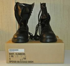 Addison Climbers Boots Steel Toe 13W 13 Wide Black Brand New