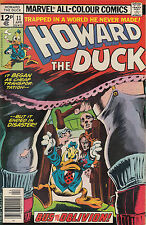 HOWARD THE DUCK 11...VF/VF+..1977..Steve Gerber,Gene Colan...High Grade Bargain!