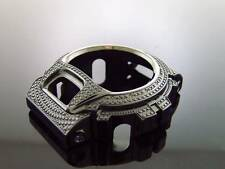 Casio G Shock Stainless steel 15 Diamonds Bezel for DW6900 Model black tone