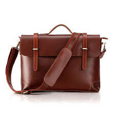 THE MUNDIAL AVANTE CITY BAG  (Red) - Men's Leather briefcase | messenger bag