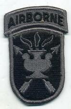 US Army JFK Special Warfare School Airborne ACU Patch W/Velcro