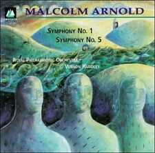 Malcolm Arnold: Symphonies Nos. 1 & 5 New CD