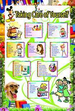 Stratificato avendo cura di lei EDUCATIVO DIDATTICO Scuola Tipo Poster FOR KIDS