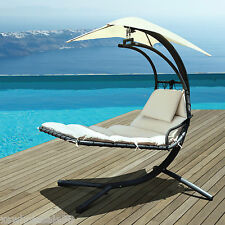 Two Seater Luxury Swing Seat With Shade - Soft Cushions, Hammock, Garden Patio