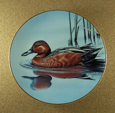 Federal Duck Stamp Collection CINNAMON TEAL Plate #7 MIB + COA Gerald Mobley