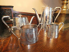 Beautiful Victorian Silver Plated Tea Set  Johnson Durban & Co Ltd