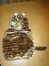 CUTE!! TIGER PLUSH HALLOWEEN COSTUME SIZE 12-24 MONTHS EUC