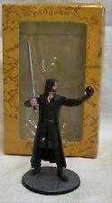 Rare Eaglemoss Lord Of The Rings Aragon Lead Figure No 160 Boxed