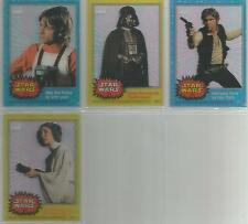 """Star Wars Chrome Archives - """"Clearzone Cards"""" Set of 4 Chase Cards #C1-4"""