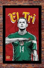 FIFA World Cup Soccer Event Brazil | TEAM MEXICO Poster | 13 x 19 Inches