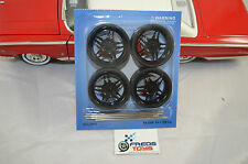 1:18 scale BK Wheels and Tyre set ( 4 pcs ) suitable for 1:18 model car