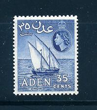 ADEN 1953 DEFINITIVES SG57 35c  MNH