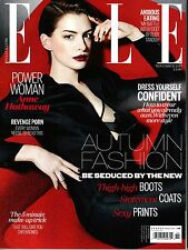 ELLE UK 11/2014 ANNE HATHAWAY Luke Powell KAROLINA WAZ Rebecca Marcos @NEW@
