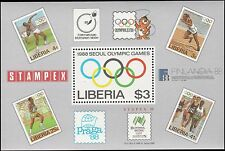 Scott # 1081 - 1988 -  ' 1988 Summer Olympic Games, Seoul ', S/S, Olympic rings