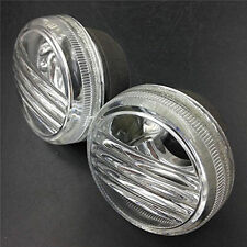 Pair Round Clear Turn Signal Lens Cover For Suzuki Boulevard M50 C50 C90 1500