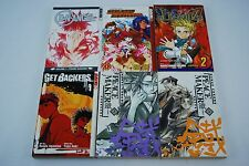 Lot of 6 Manga Books Peace Maker Real Bout High School Legendz Tokyopop