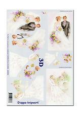 3D Bogen LeSuh Motivbogen Etappenbogen Bastelbogen Heirat Hochzeit (013)
