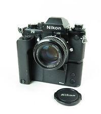 Nikon F3 HP Spiegelreflex-Kamera mit Nikkor 50mm 1:1.4 Objektiv und Motor