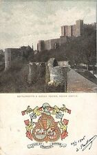 BR94136 battlements and watch tower dover castle   uk