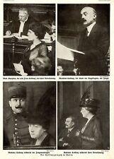 Escándalo-proceso en parís * el caillauxprozeß * imagen documentos de 1914